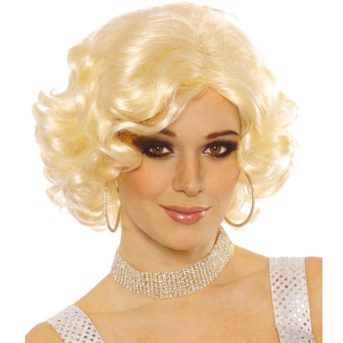 Hollywood Starlet Blonde Wig - Click Image to Close