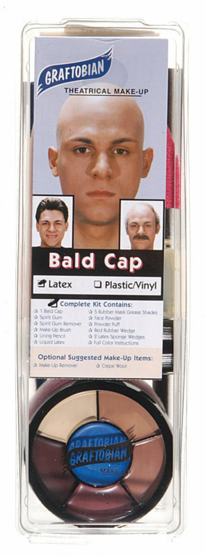 Professional Bald Cap Complete Kit