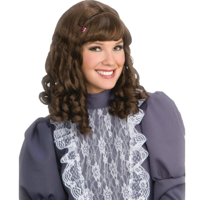Brown Scarlet Wig