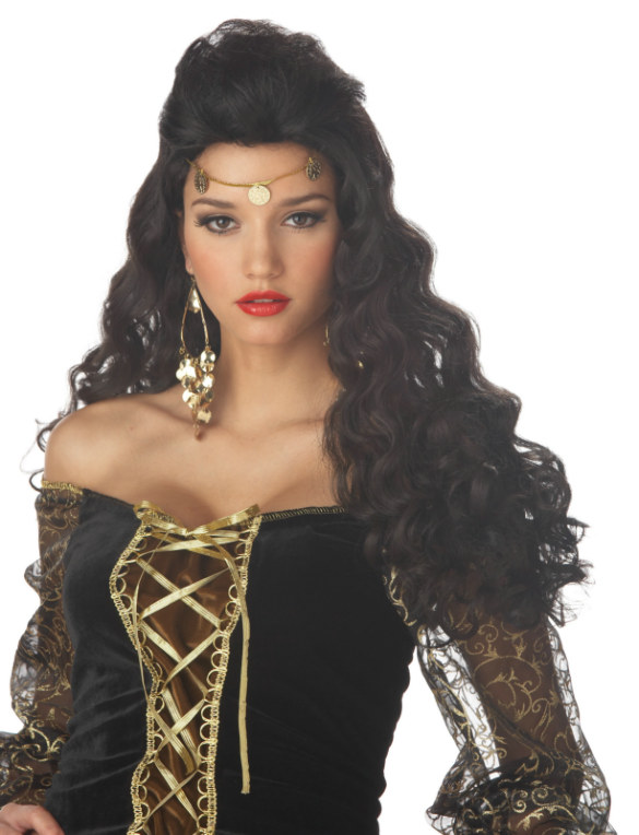 Madame Destiny Adult Wig - Brunette