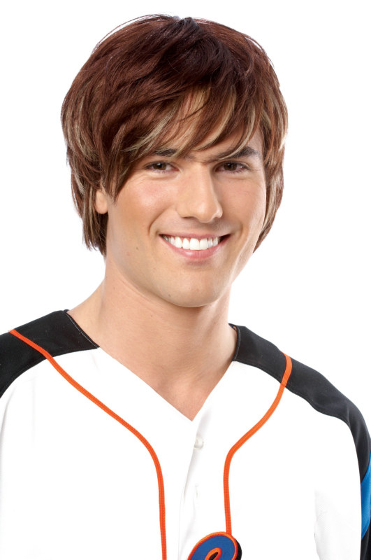 Heartthrob Brown Wig - Adult