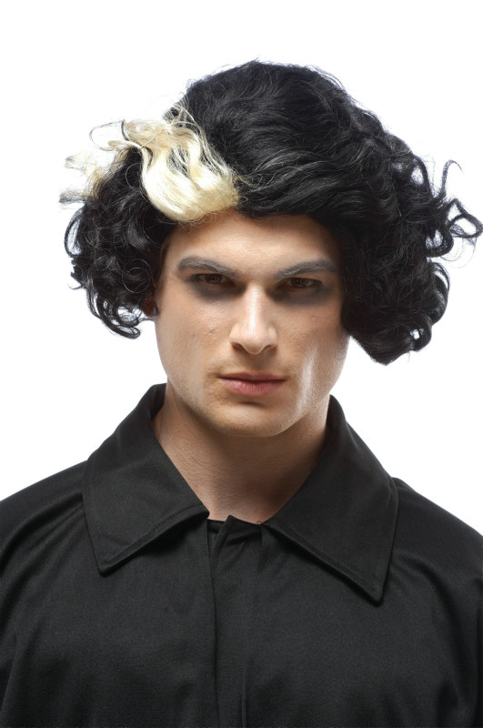 Sweeney Todd - Barber (Black/Platinum) Adult Wig