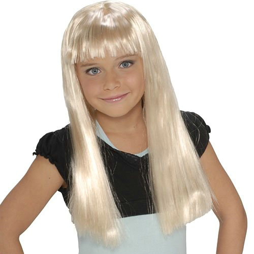 Pop Star Blonde Wig