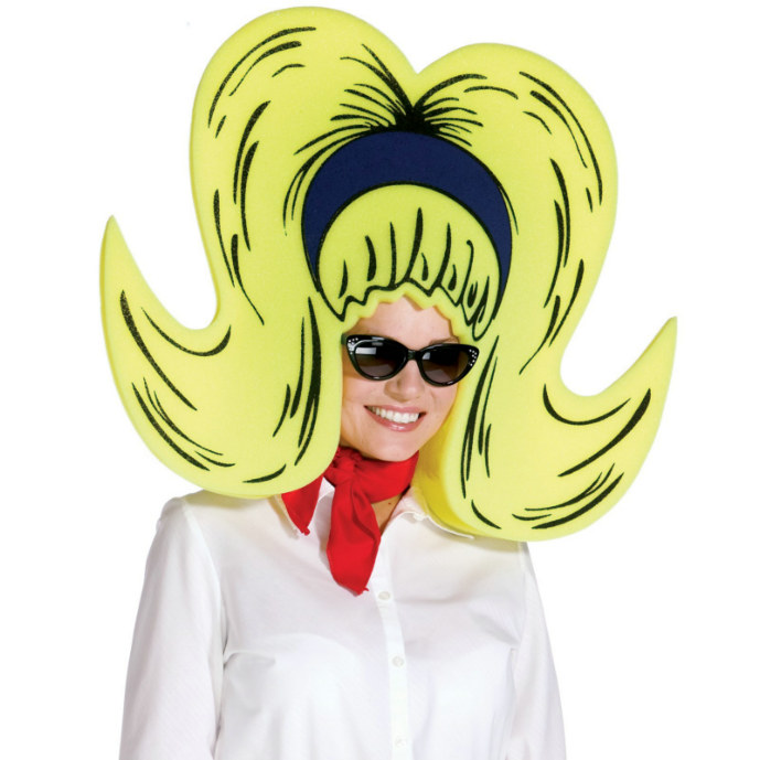 Foam Bouffant Wig/Hat