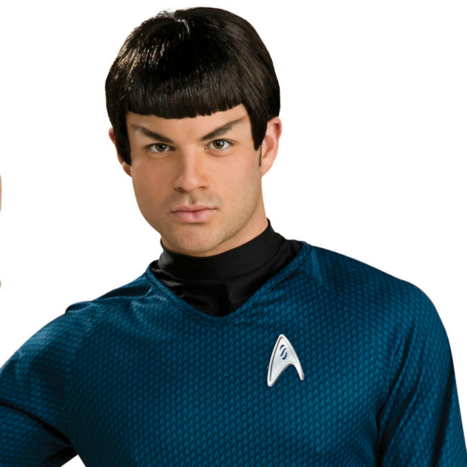 Star Trek Movie 2009 Spock Wig Adult