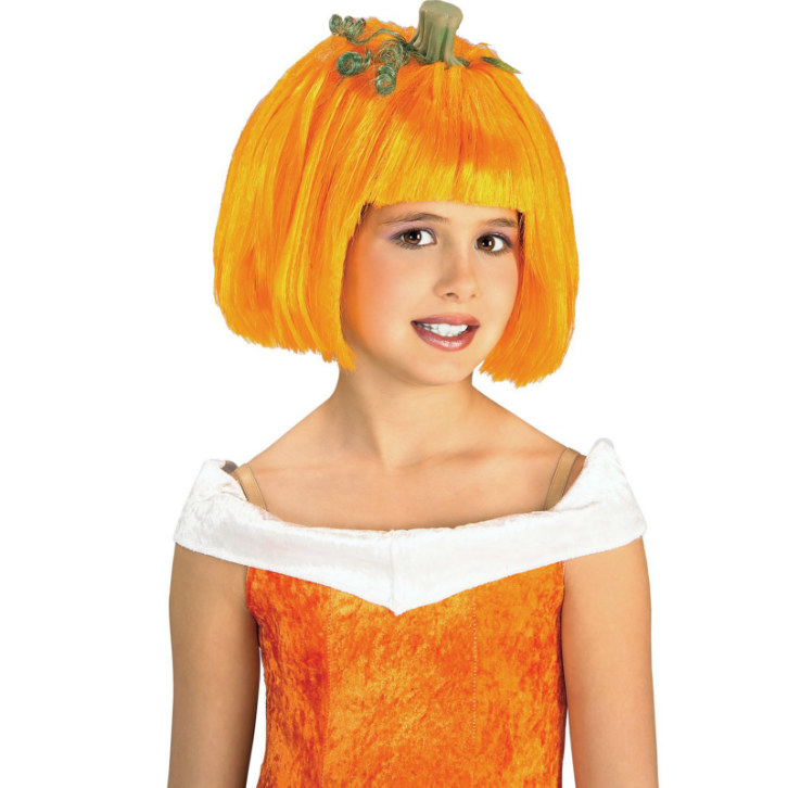 Pumpkin Spice Child Wig