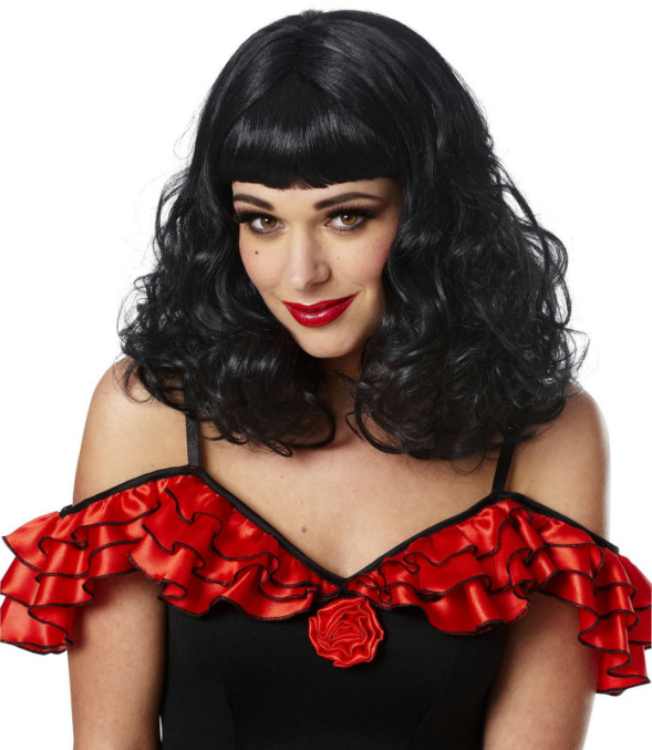 Black Vegas Wig Adult