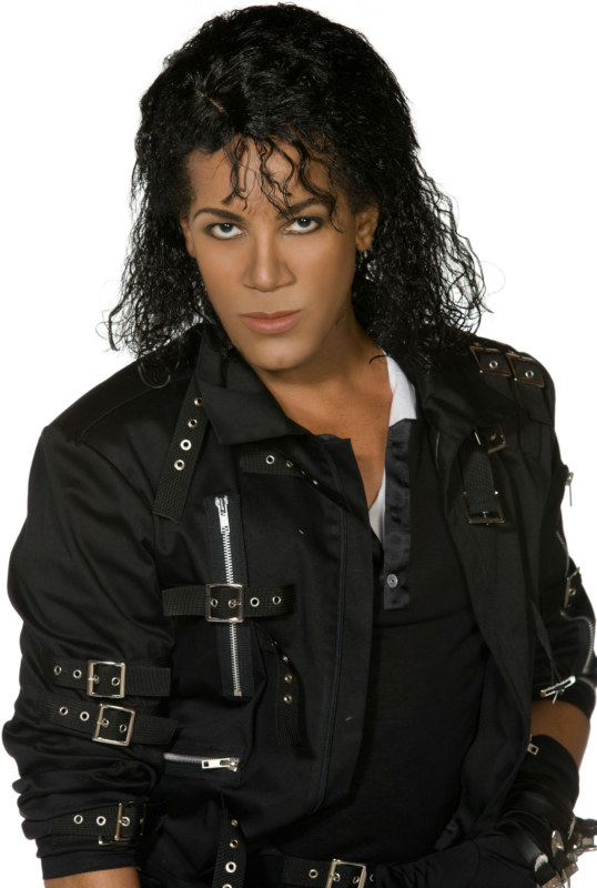Michael Jackson Long Adult Wig