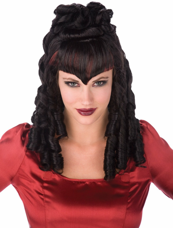 Gothic Curls Wig Adult