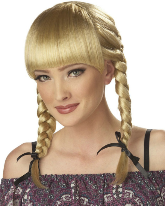 Bohemian Braids (Blonde) Adult Wig