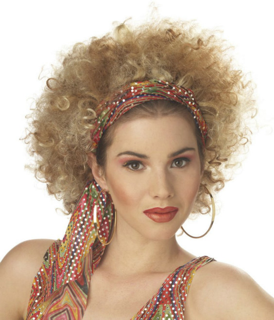 Ghetto Fab (Blonde/Brown) Adult Wig