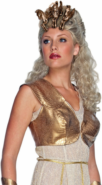 Clash of the Titans Athena Adult Wig & Headpiece