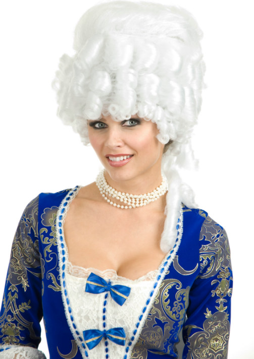 Colonial Maiden Adult Wig