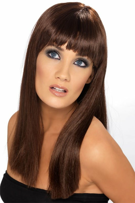 Glamarama (Brown) Adult Wig