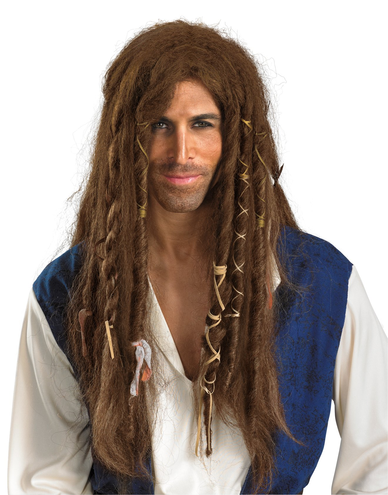 Pirates Of The Caribbean - Jack Sparrow Deluxe Wig (Adult)