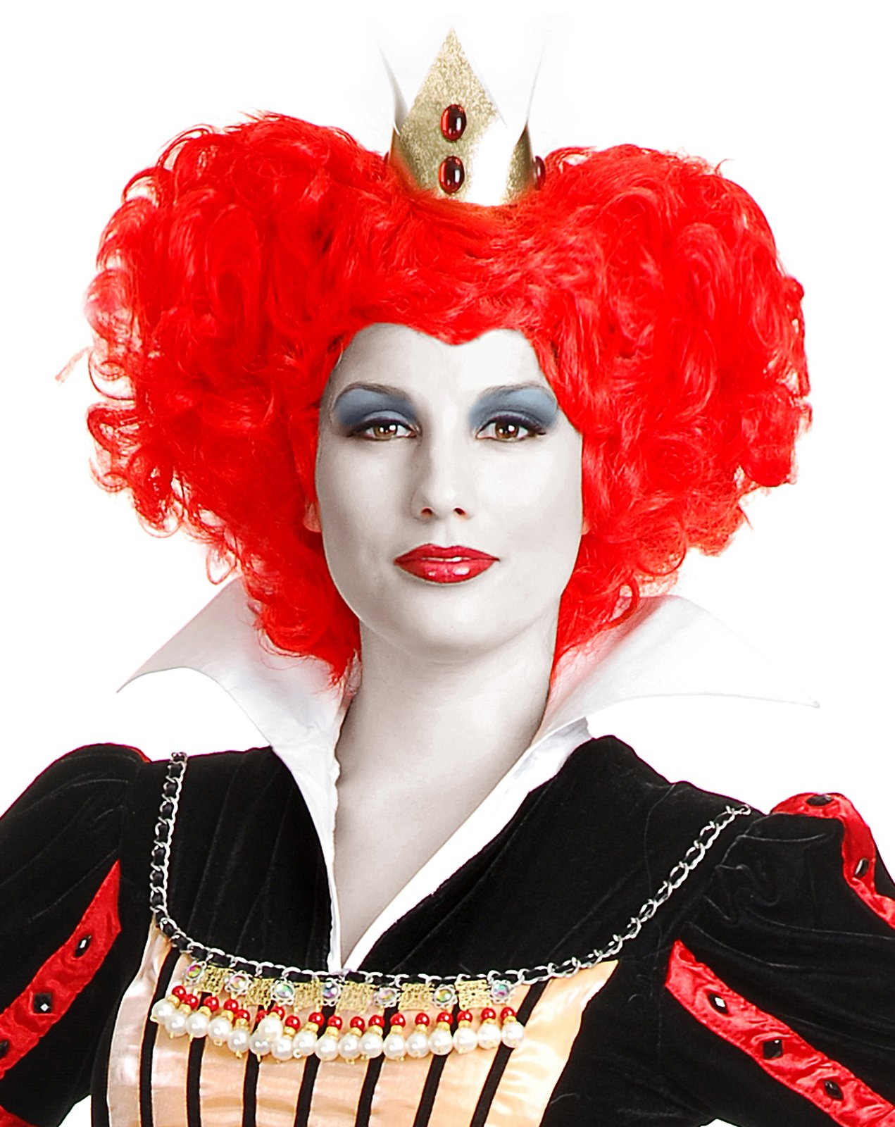 Red Queen Wig (Adult)