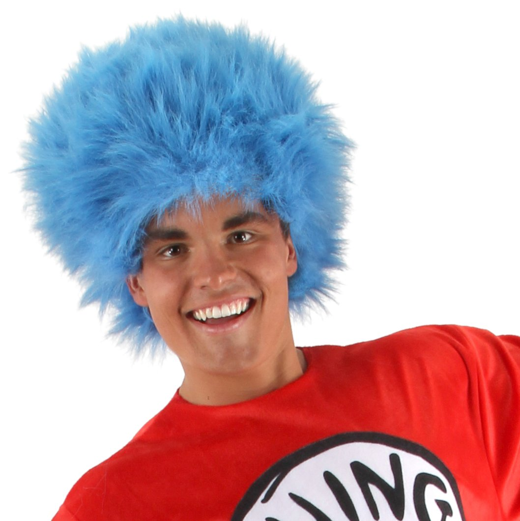 Dr. Seuss Thing 1 and 2 Wig Adult