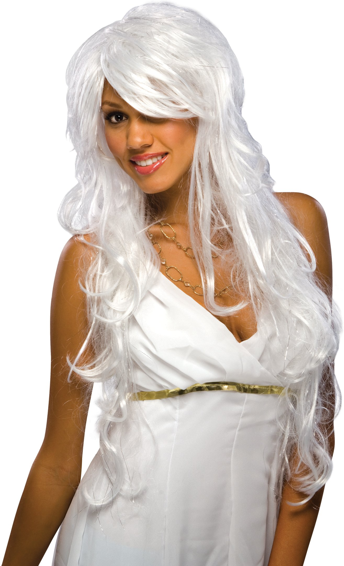 Chic White Wig (Adult)
