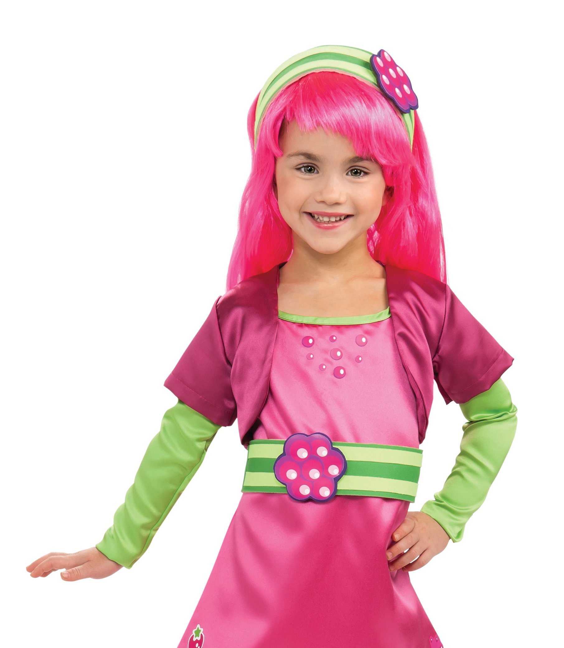 Strawberry Shortcake - Raspberry Tart Wig (Child)