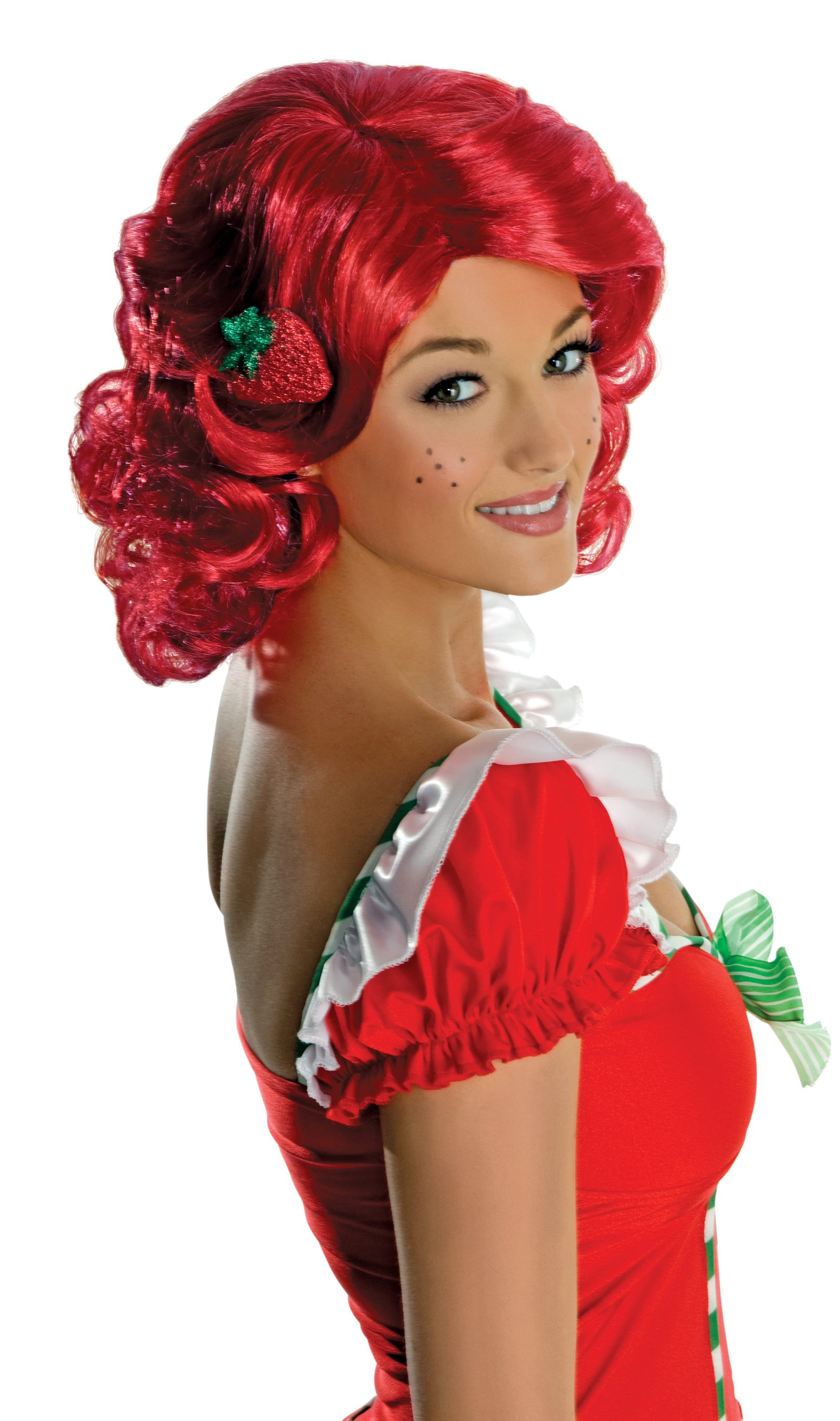 Strawberry Shortcake - Deluxe Strawberry Shortcake Wig (Adult)