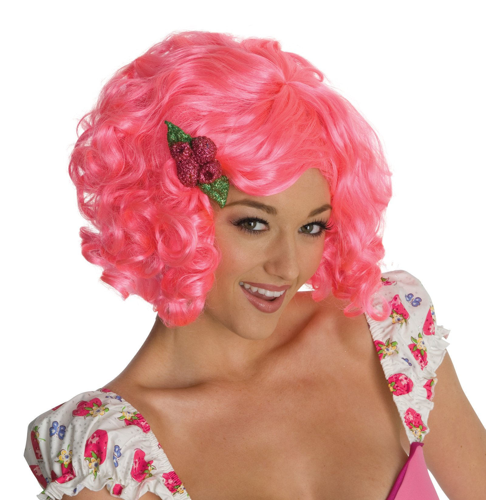 Strawberry Shortcake - Raspberry Tart Wig (Adult)