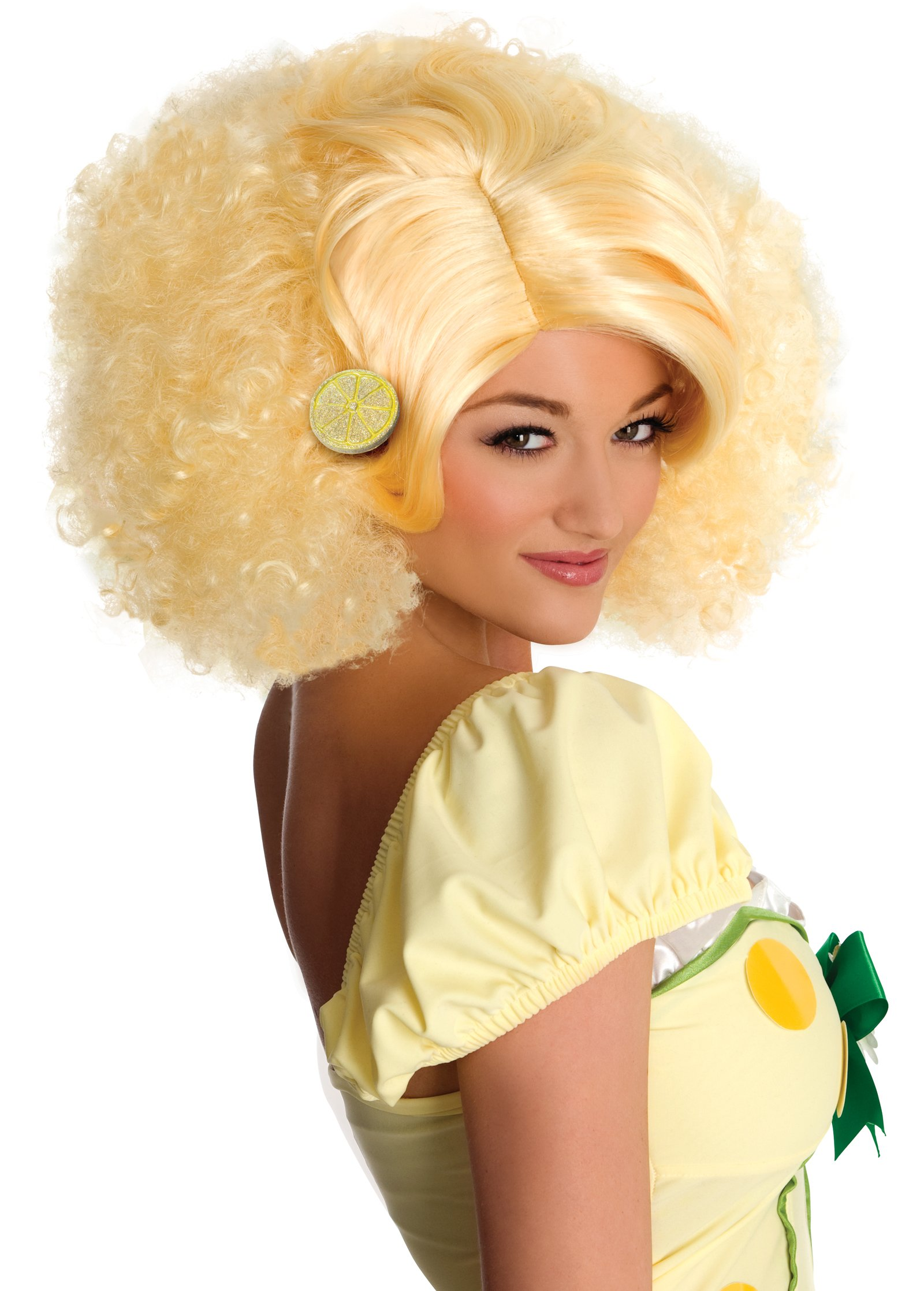 Strawberry Shortcake - Deluxe Lemon Meringue Wig (Adult)
