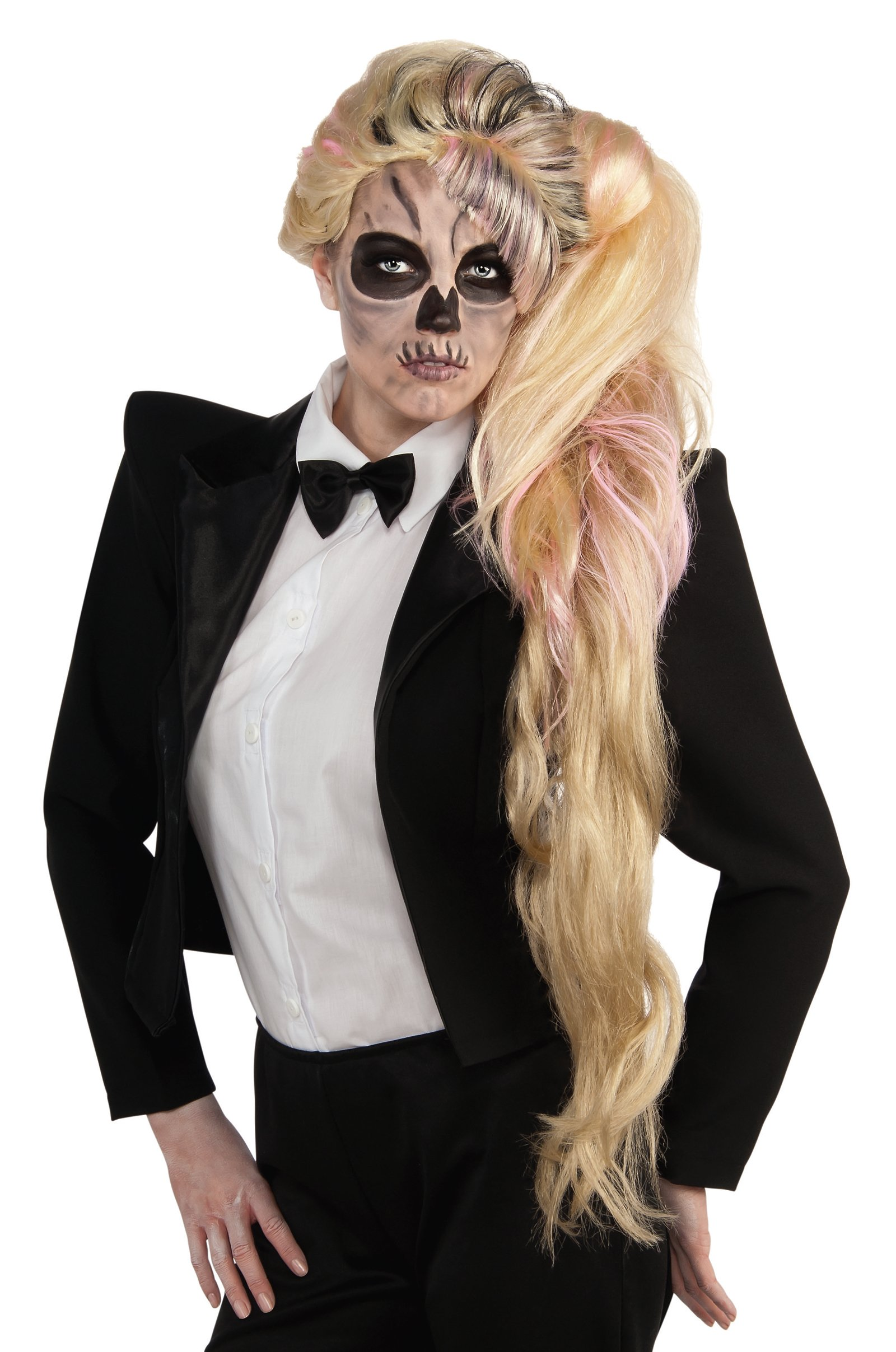Lady Gaga Side Ponytail Wig (Adult)