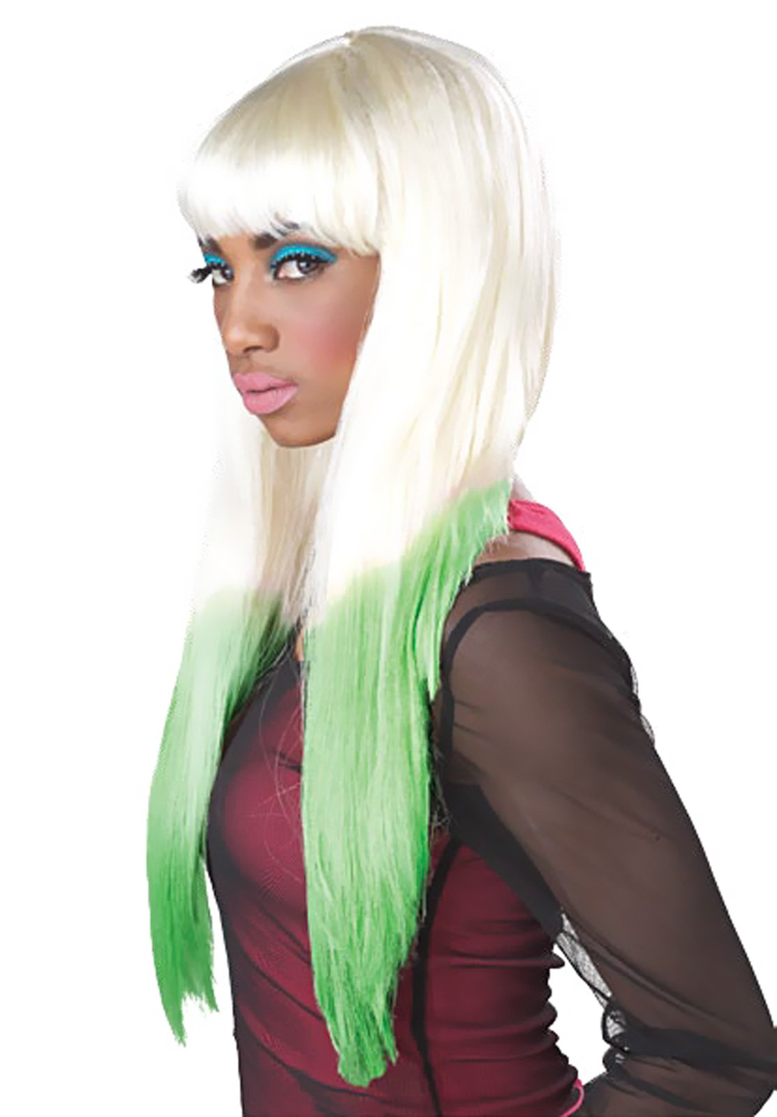 Color Dipped Adult Wig