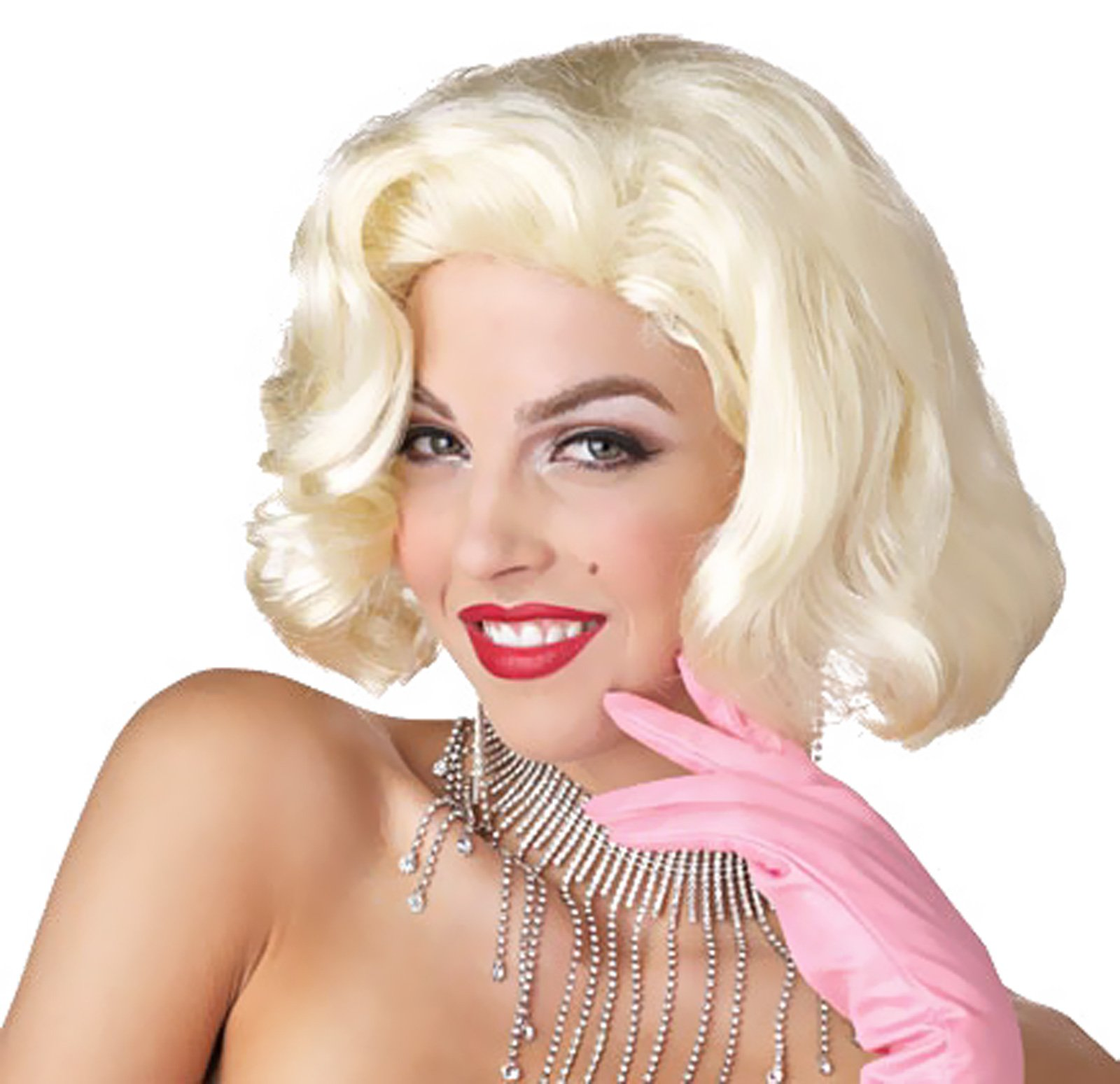 Diamonds Marilyn Monroe Adult Wig