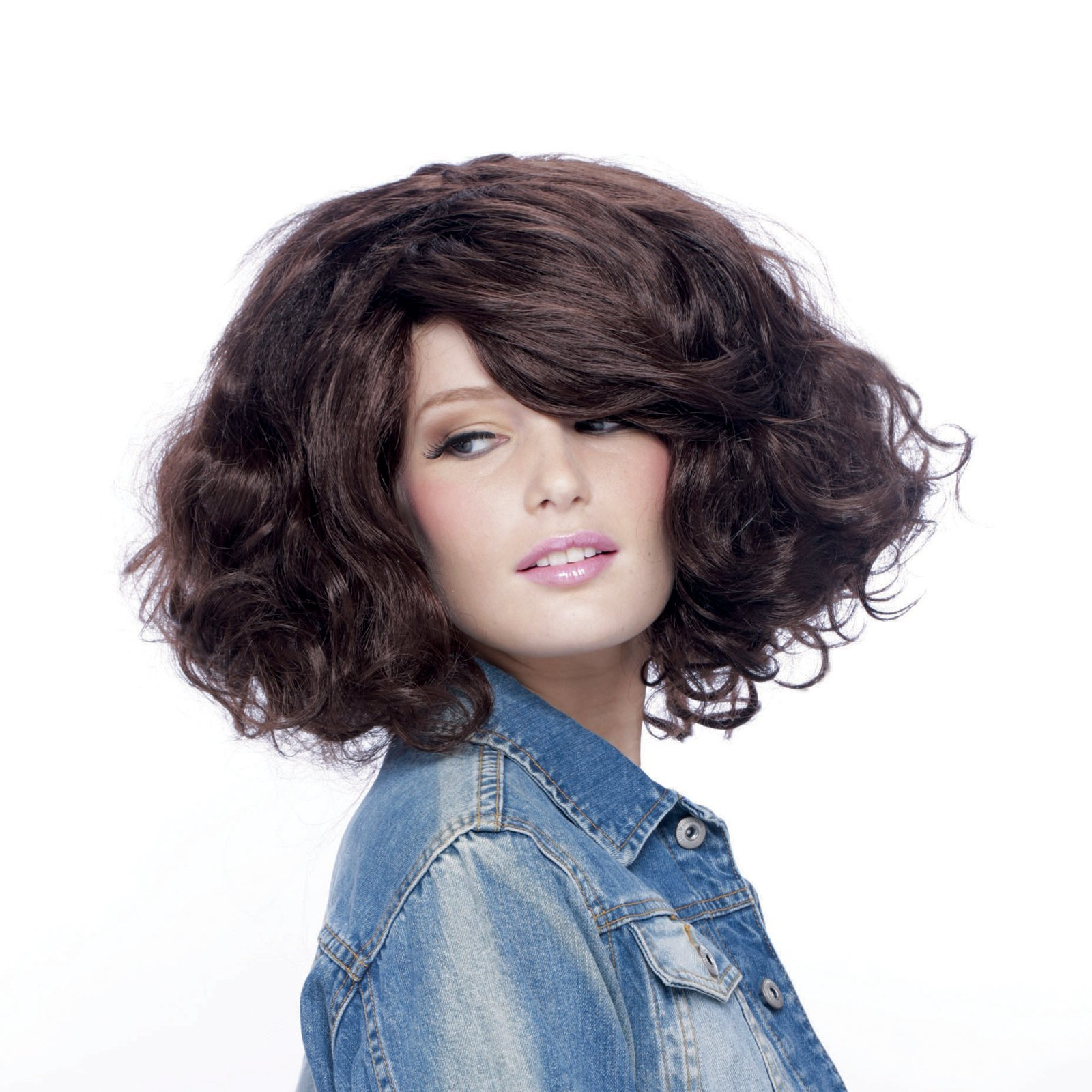 Big Wig Couture Brunette Adult Wig