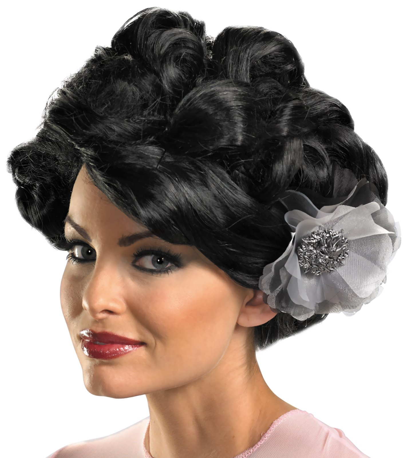 Dark Bloom Deluxe Wig (Adult)
