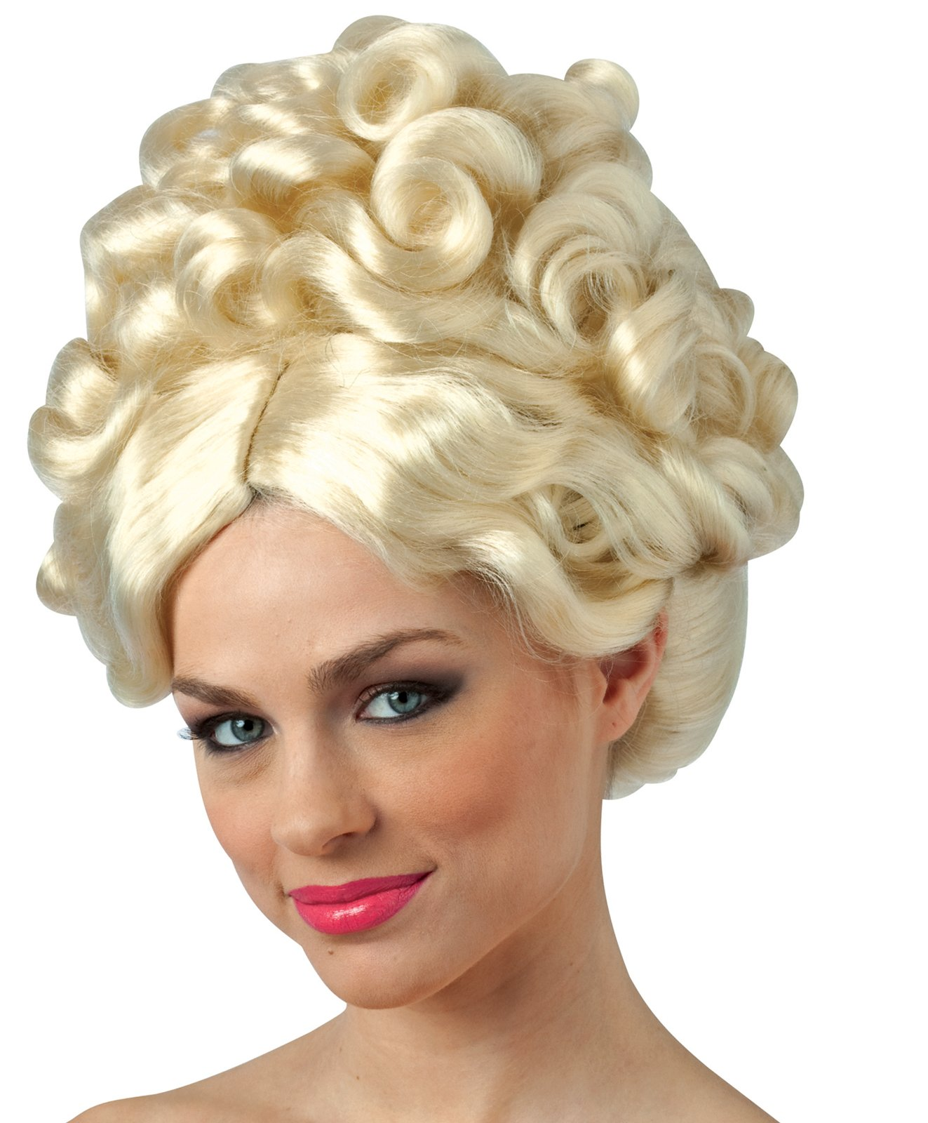Toddler and Tiara Blonde Adult Wig
