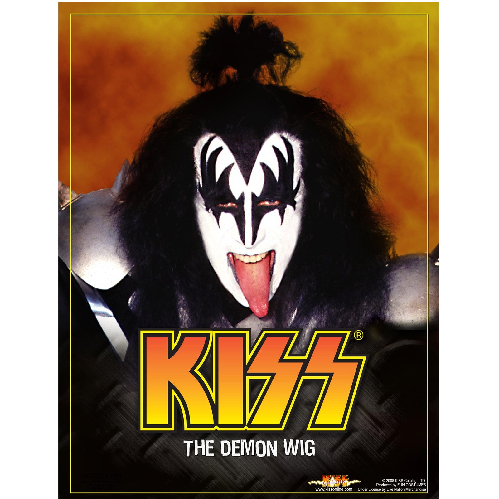 KISS Demon Wig (Adult)