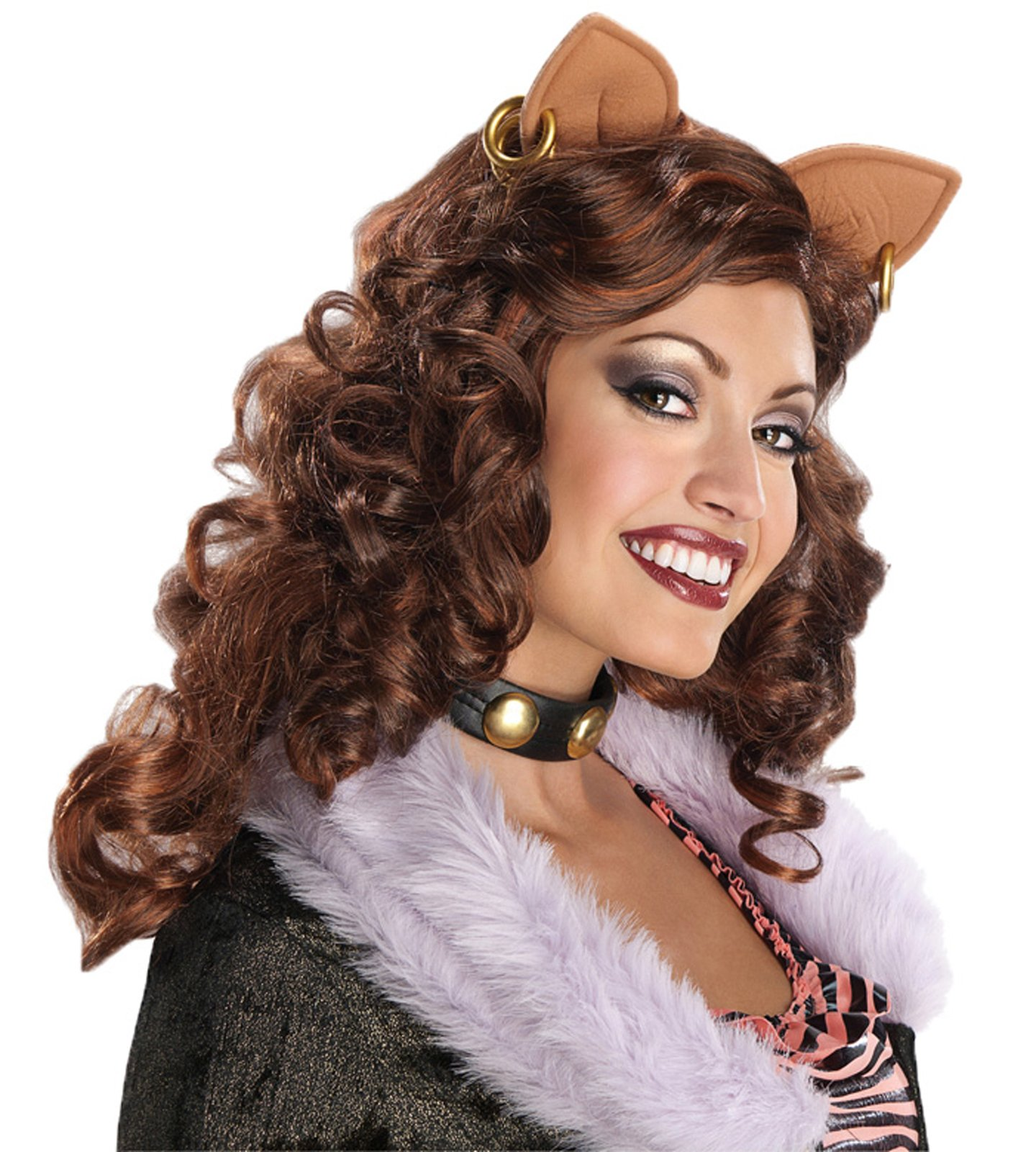 Monster High Clawdeen Wolf Adult Wig