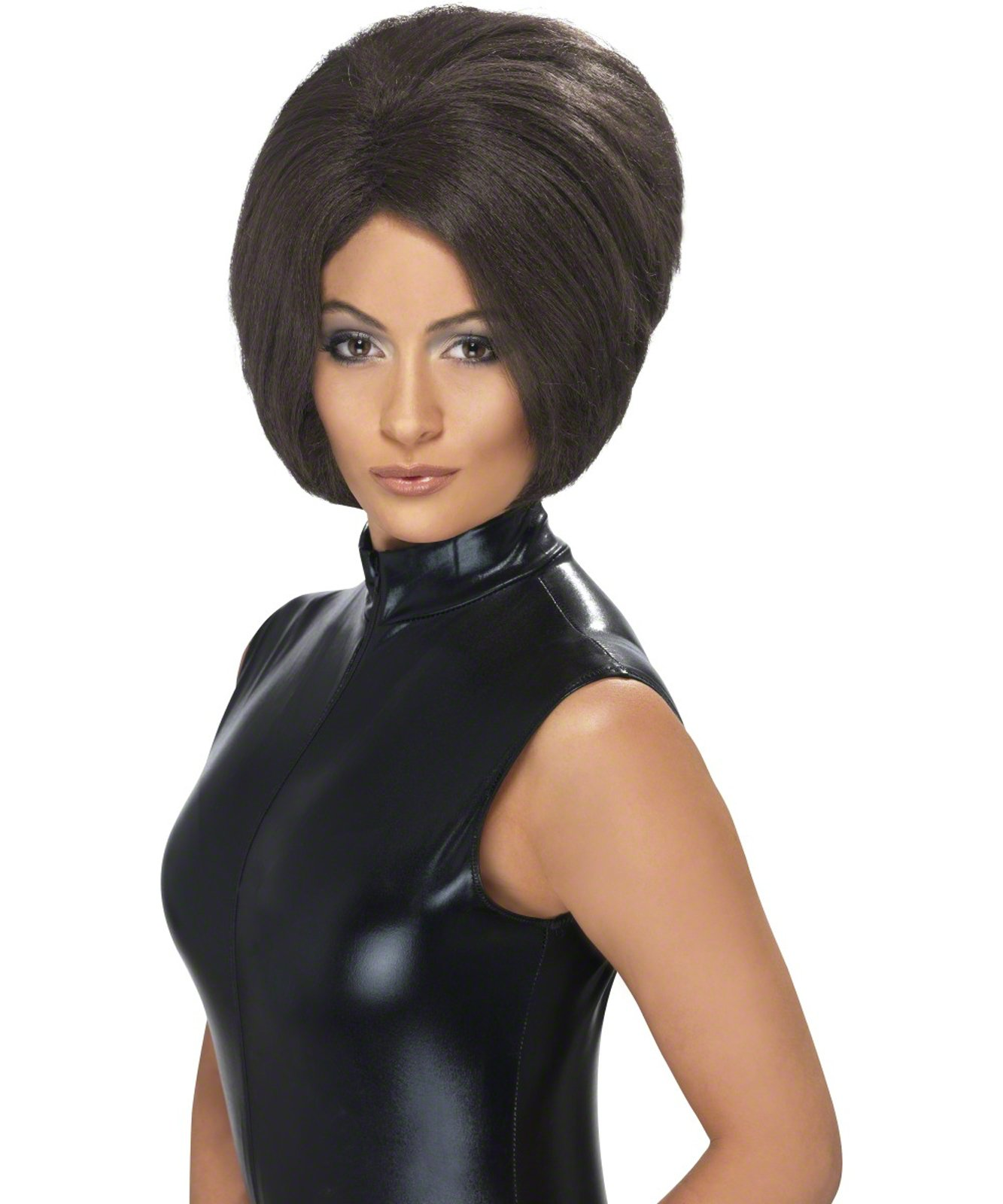Posh Power Brown Adult Wig