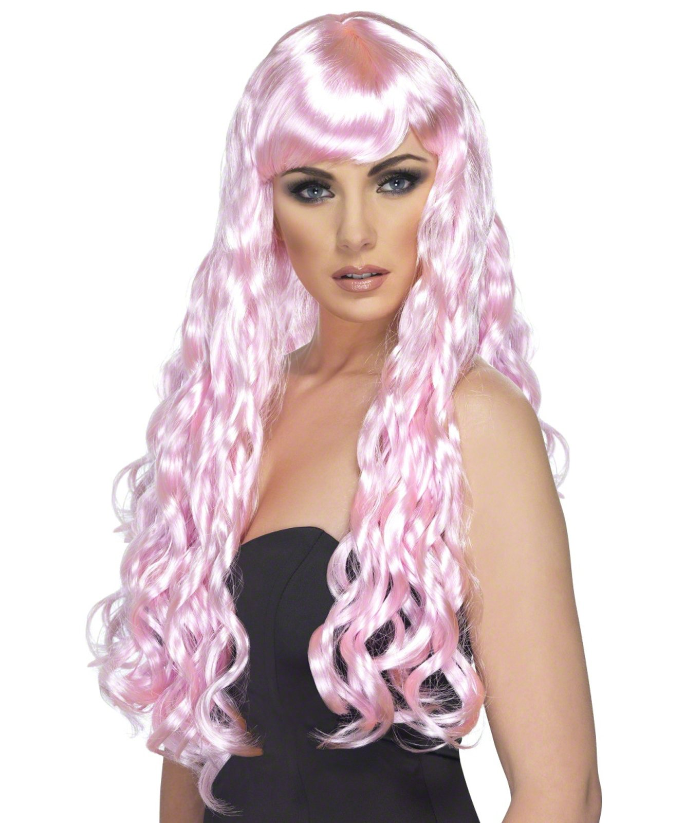 Desire (Candy Pink) Adult Wig