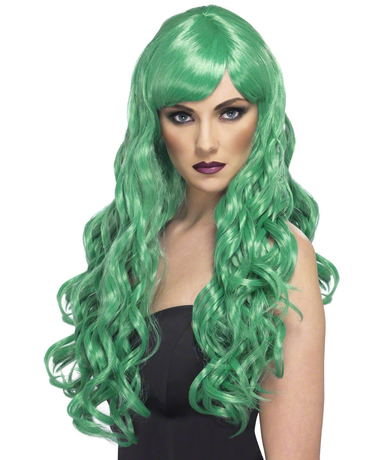 Desire (Green) Adult Wig - Click Image to Close