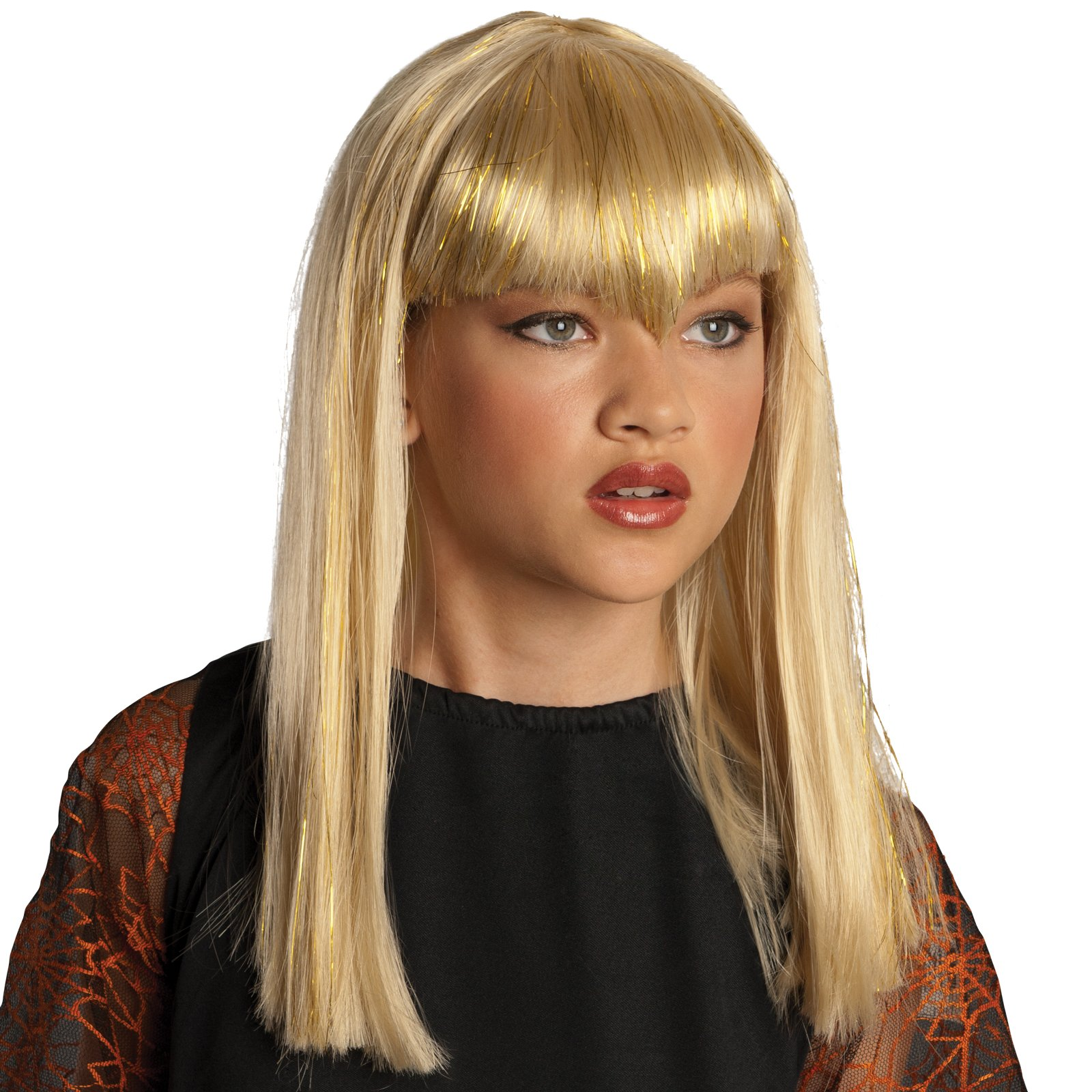 Glitter Vamp Blonde Child Wig
