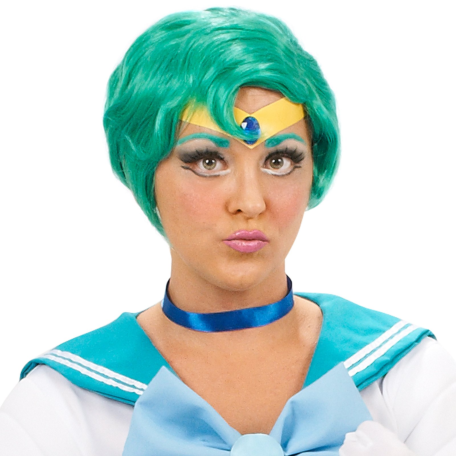 Sailor Moon Sailor Mercury Wig Adult