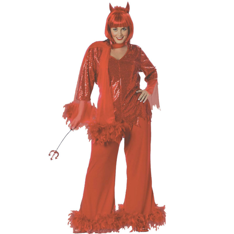 Red Hot Mama Plus Adult Costume