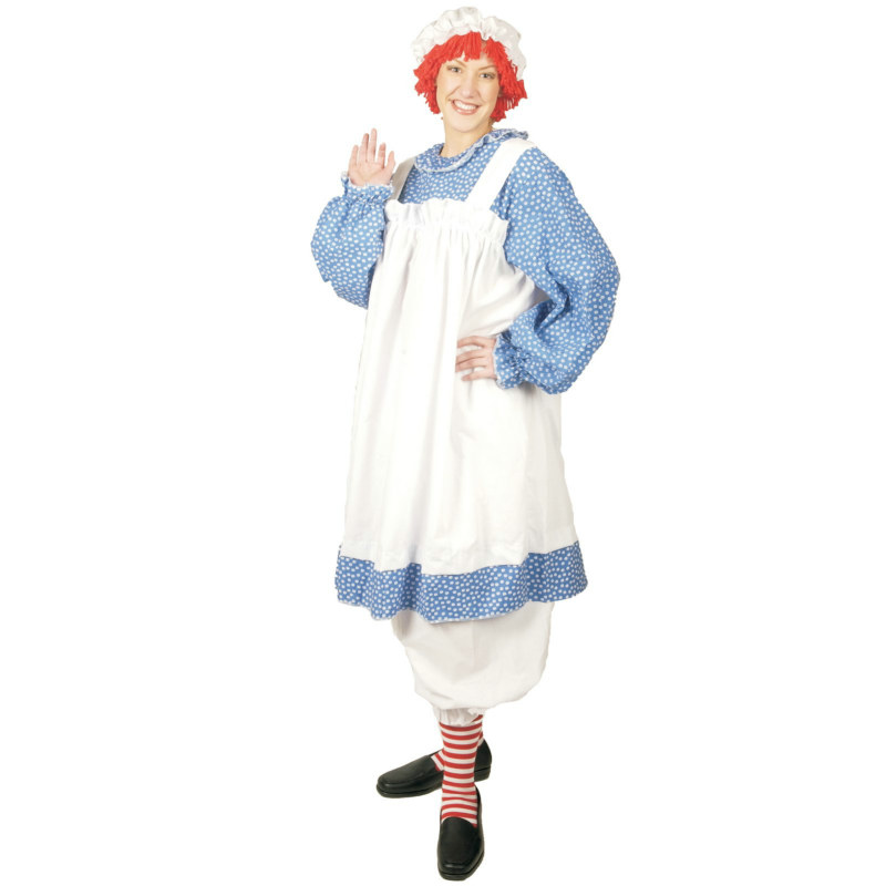 Raggedy Ann Adult Plus Costume
