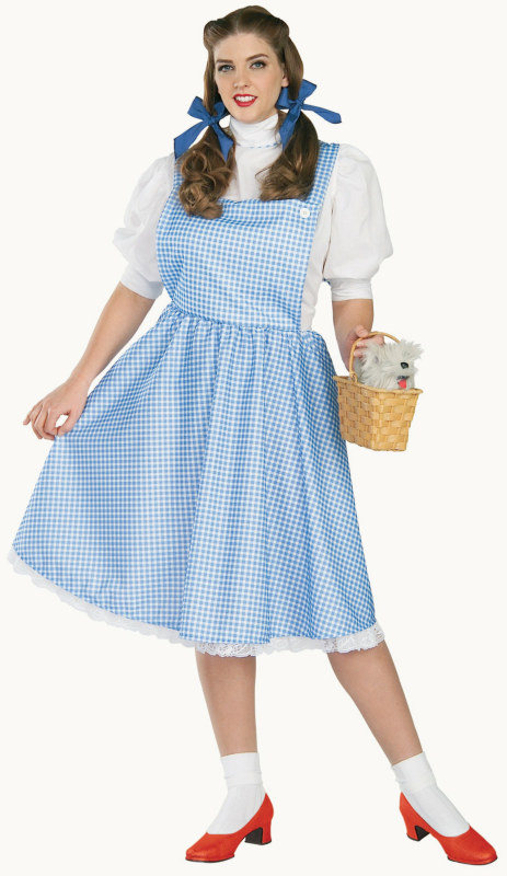 The Wizard of Oz Dorothy Plus Adult Costume