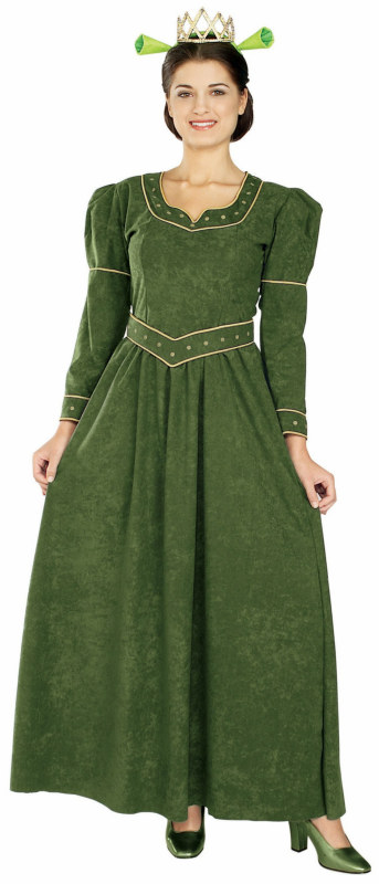 Shrek Princess Fiona Deluxe Adult Costume