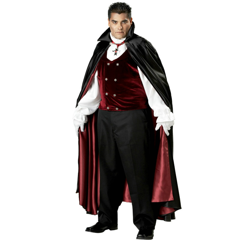 Gothic Vampire Plus Elite Collection Adult Costume