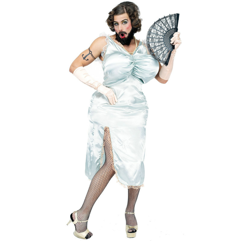 Bearded Lady Adult Circus Costume