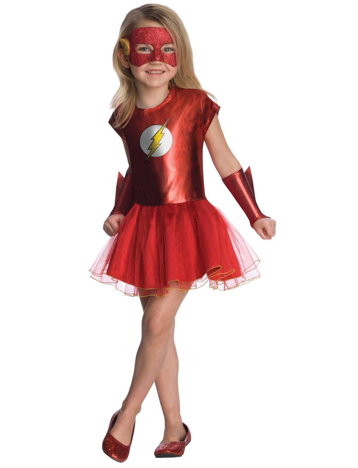 flash tutu child costume