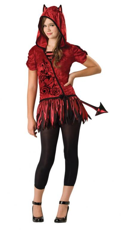 Devil Tween Costume