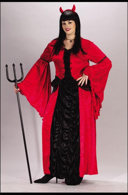 Plus Halloween Costumes Size 24.Devil Princess Plus Size Adult Costume In Stock About Costume Shop