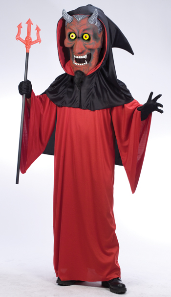 Bobble Head Devil Adult Costume
