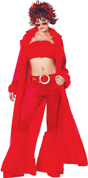 Devil Demonica Club Costume